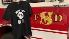 Tuff Tee Shirt and Firetruck